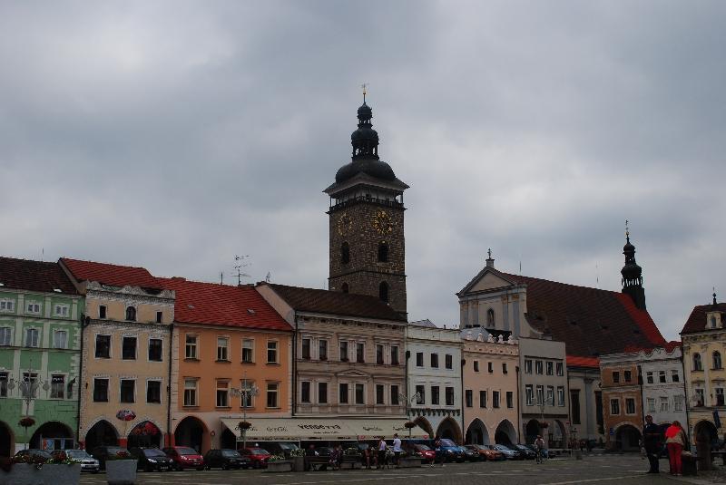 Procházka po Českých Budějovicích